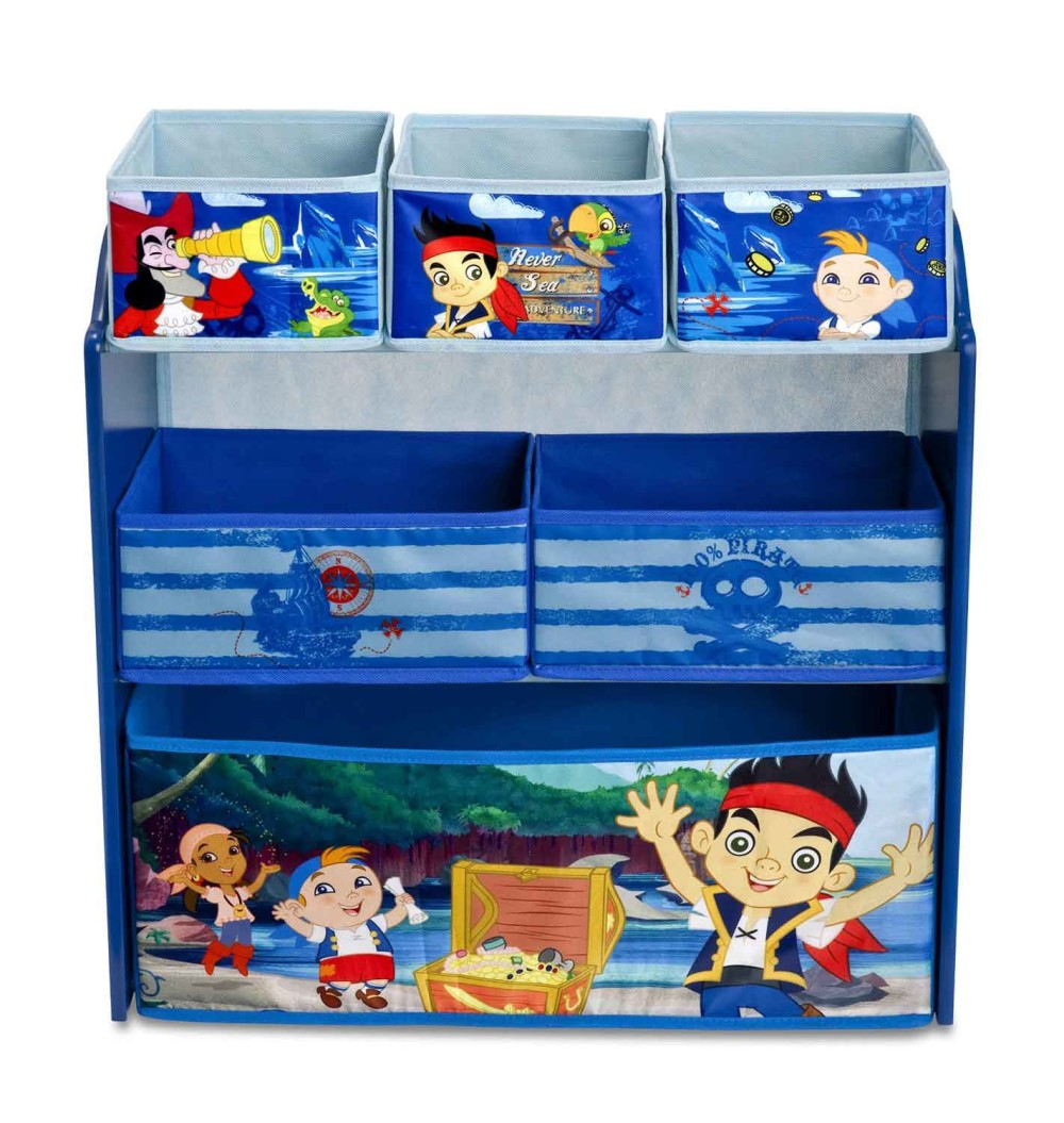 Jake and NeverLand Pirates Toy Organizer
