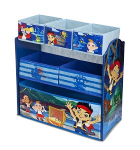 jake and the neverland pirates toy organizer side view