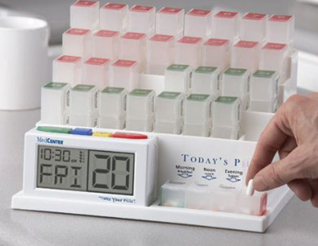 Medication Organizer with Alarm