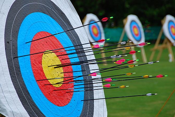 Kids Archery Set Tidy Organizer